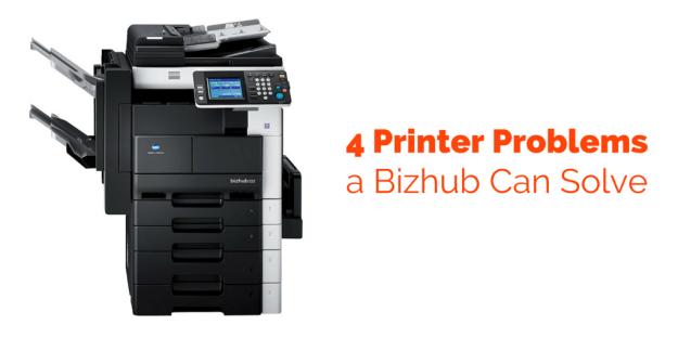 4 Printer Problems