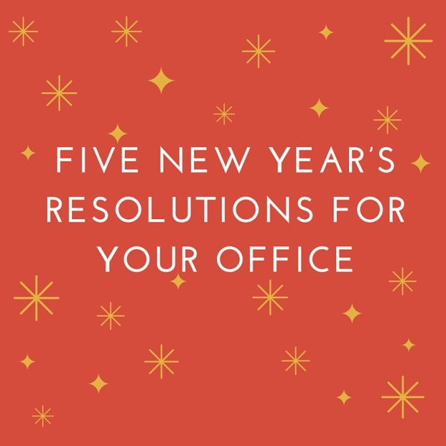 Five New Year's Resolutions for Your Officewishing you all a
