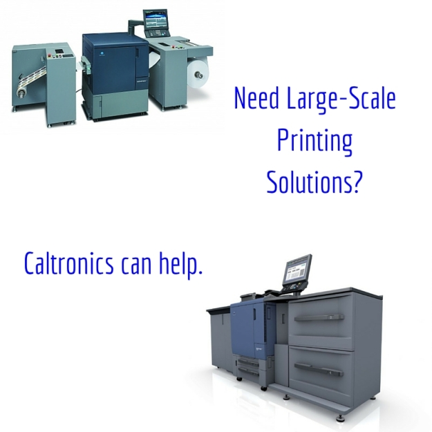 Need Large-Scale Printing Solutions-