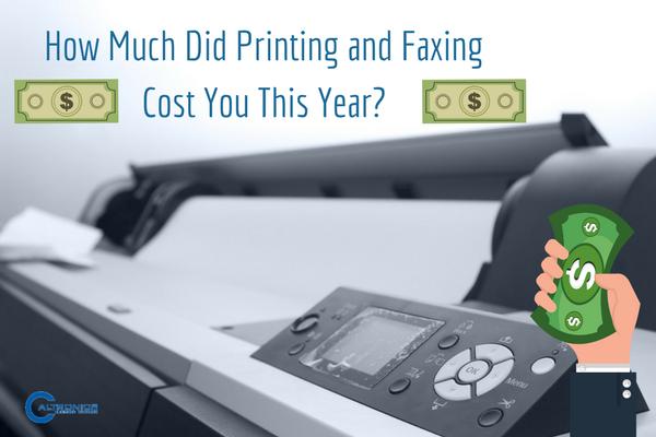 printing cost