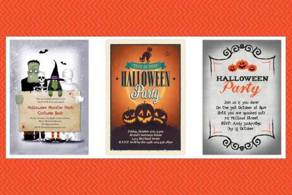 Halloween Invitations Printables
