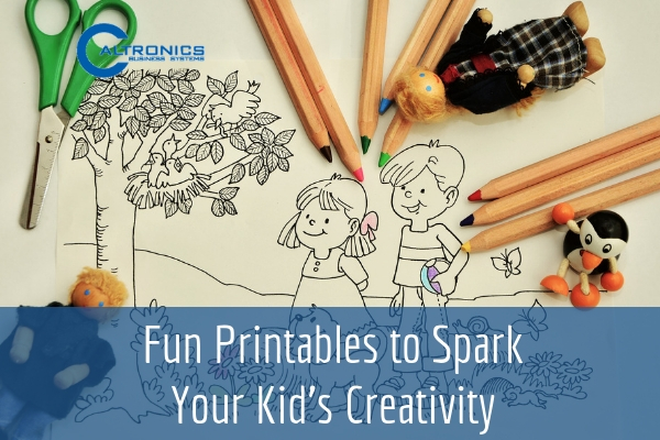 Fun Printables to Spark Your Kids Creativity