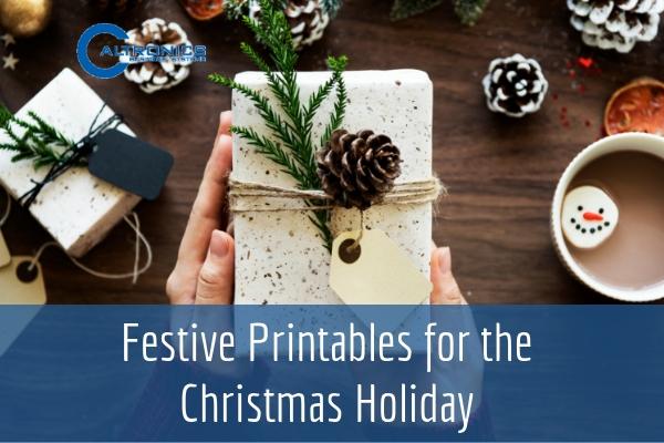 Festive Printables for the Christmas Holiday